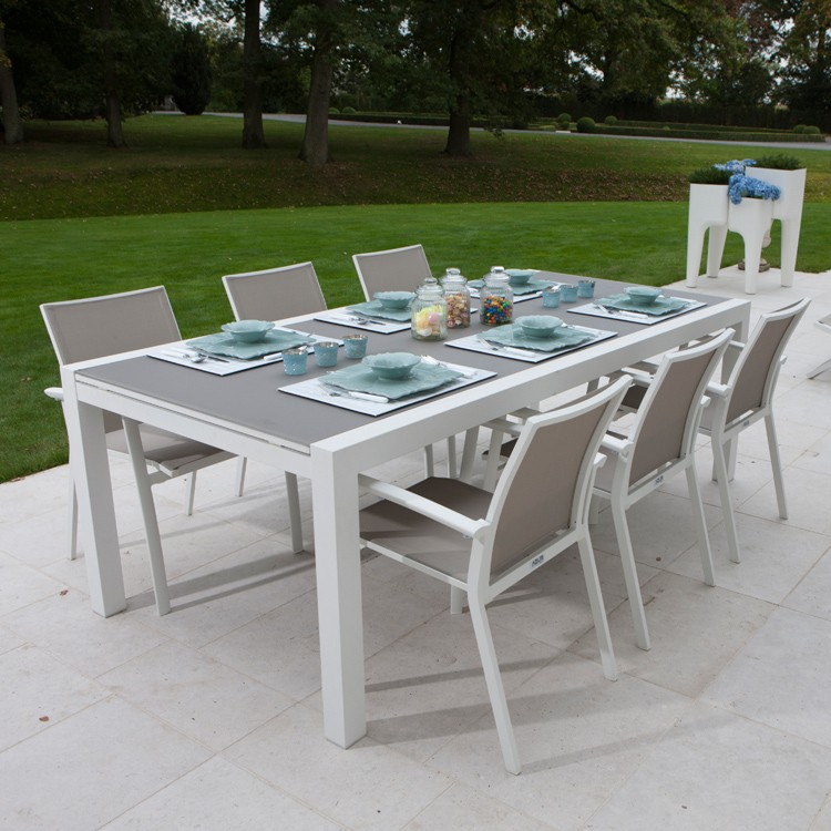 Awesome Table Jardin Alu Couleur Contemporary - House Design ...