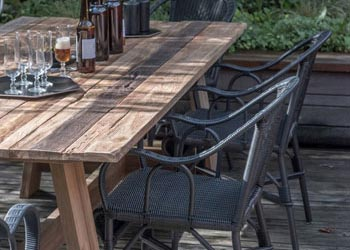 Best Table De Jardin Bois Vieilli Ideas - House Interior ...