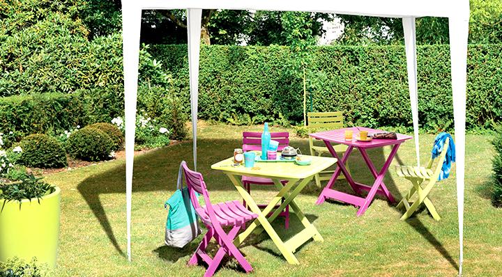 Coussin pour salon de jardin la foir\'fouille - Mailleraye.fr jardin