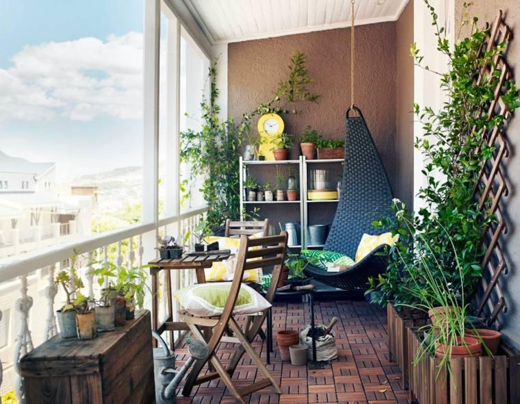Terrasse petit balcon