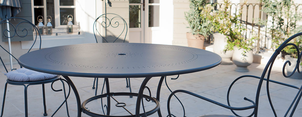 Beautiful Table De Jardin Ronde Castorama Pictures - House ...