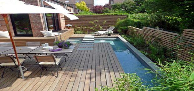 Modele de terrasse en bois composite