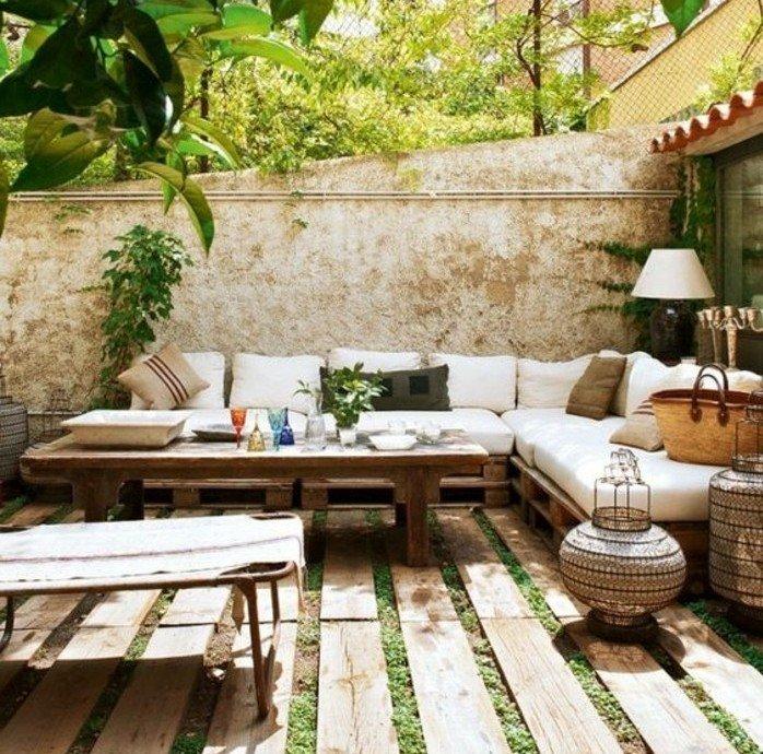 Aménagée Aménagée Aménagée Petite Terrasse Jardin Terrasse ...