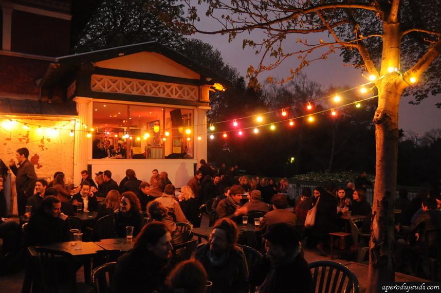 Bar sympa paris avec terrasse