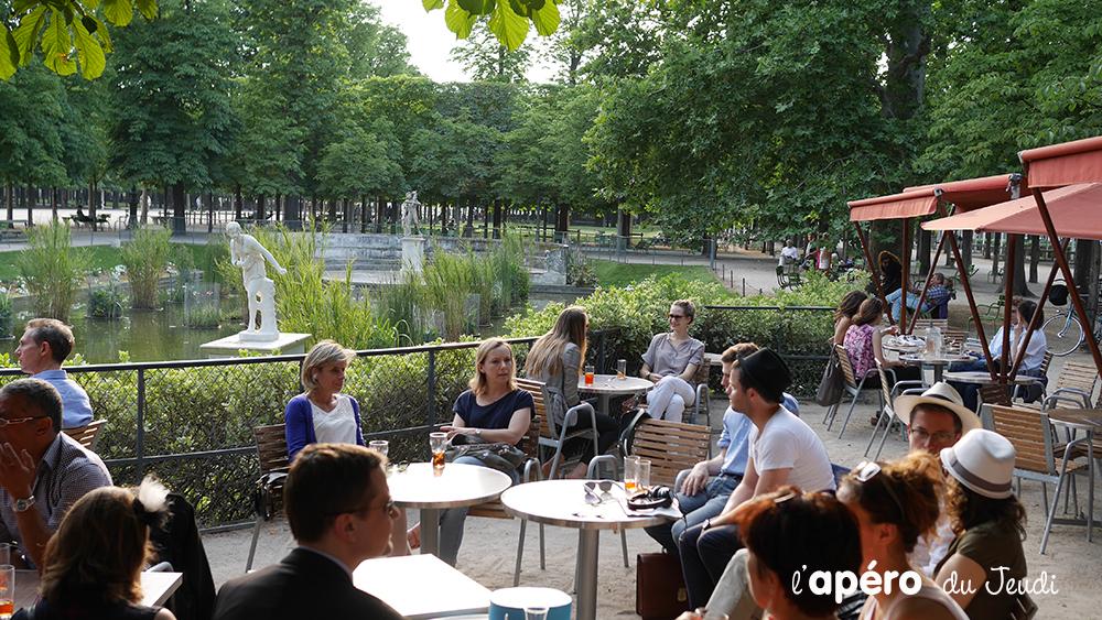 Café terrasse paris sympa