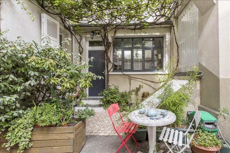 Appartement terrasse jardin paris
