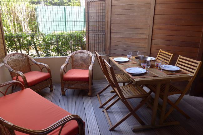 Location appartement terrasse jardin marseille