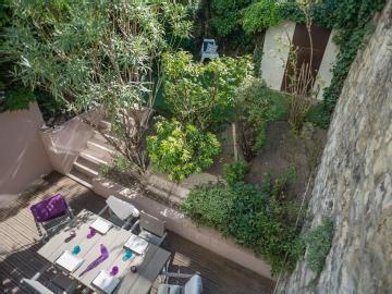 Terrasse et jardin boulogne