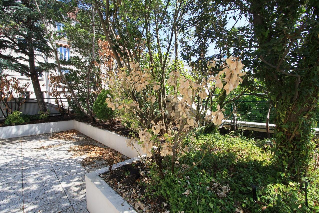 Terrasse du jardin boulogne