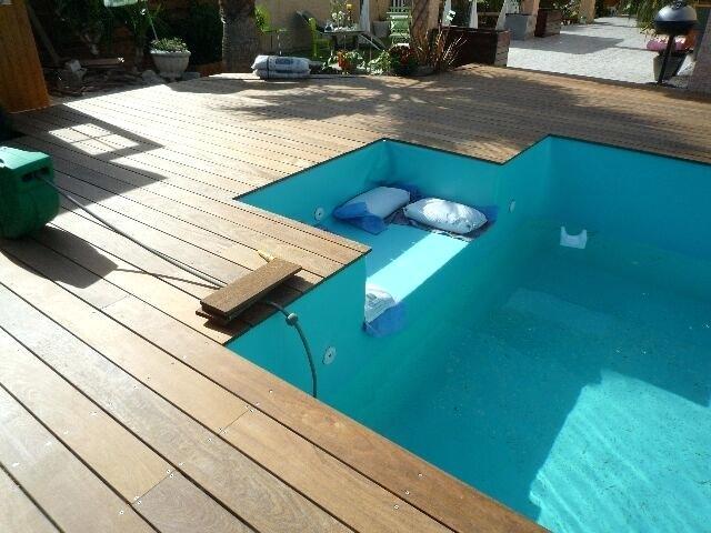 Terrasse piscine bois composite prix jardin - Piscine bois composite ...