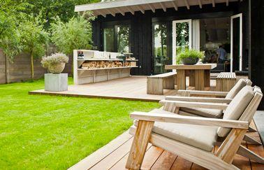 Terrasse cuisine aménager