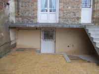 Terrasse beton suspendu