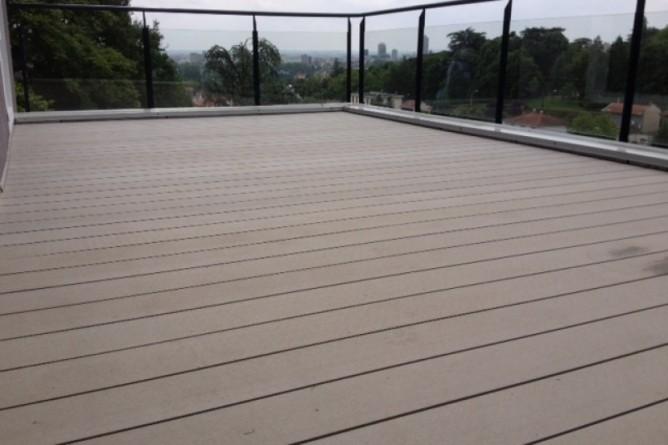 Terrasse composite rhone alpes