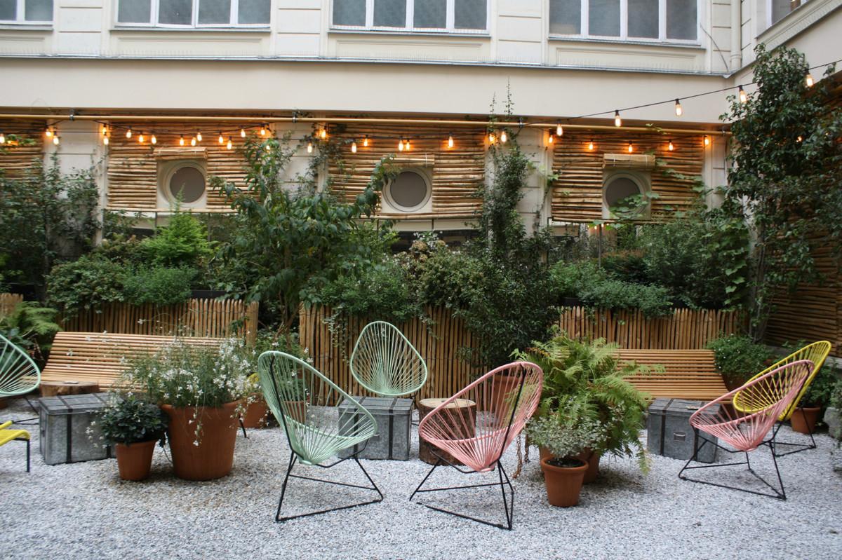 Terrasse paris bambou