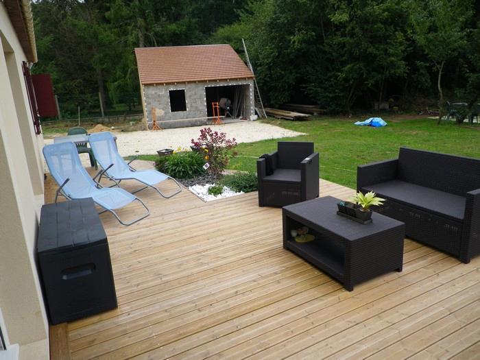 Terrasse jardin brico depot jardin - Allibert salon de jardin brico depot ...