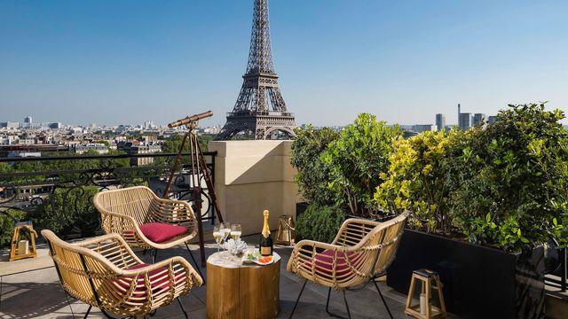Bar terrasse luxembourg paris
