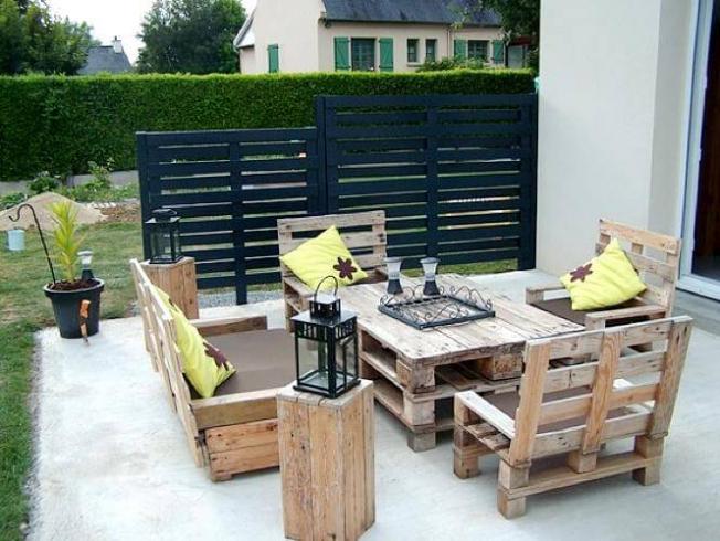 Salon de jardin idee deco