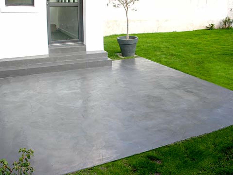 Terrasse beton video