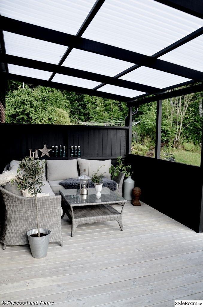 Terrasse jardin fait maison