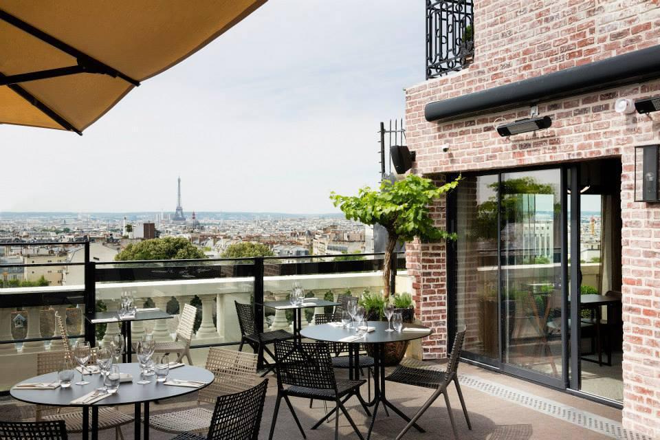 Terrass hotel propose paris