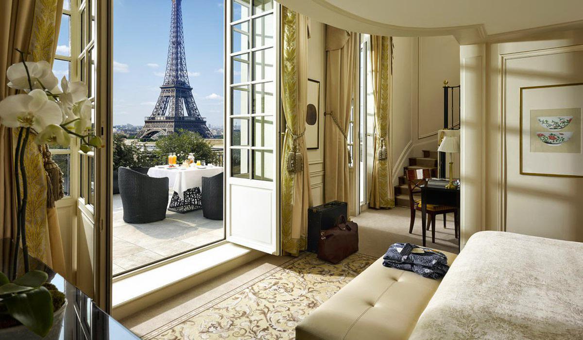 Hotel paris suite terrasse