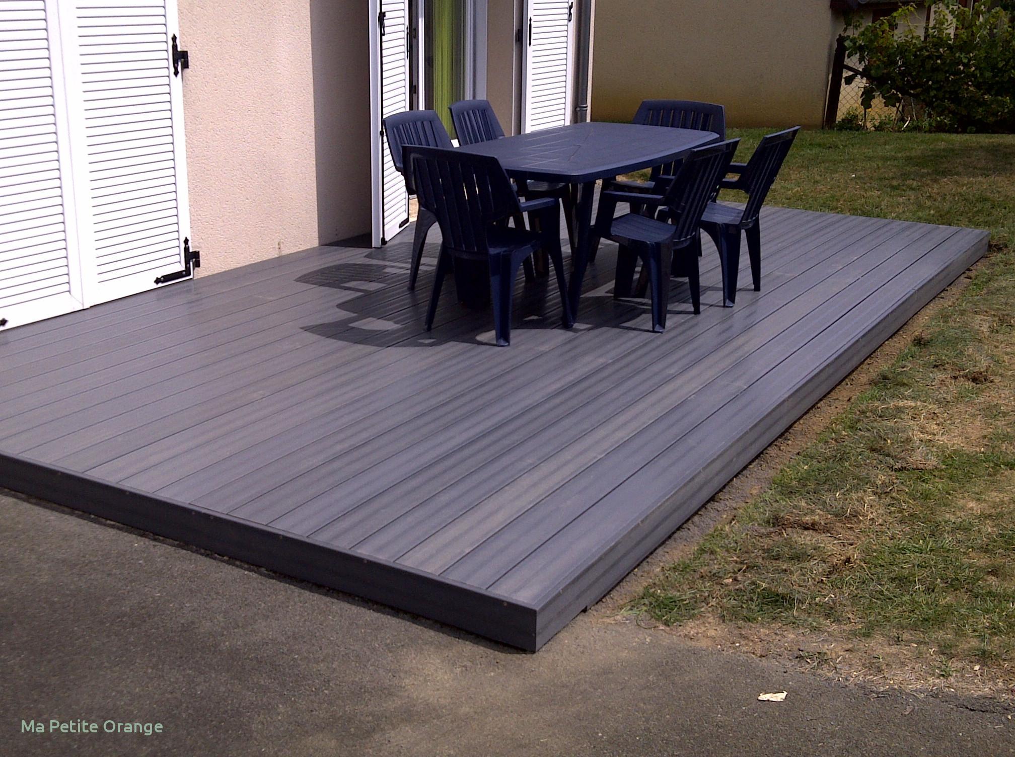 terrasse bois gris anthracite jardin. Black Bedroom Furniture Sets. Home Design Ideas