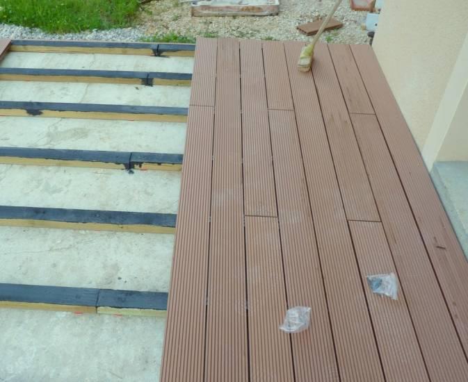 Terrasse bois composite bigmat