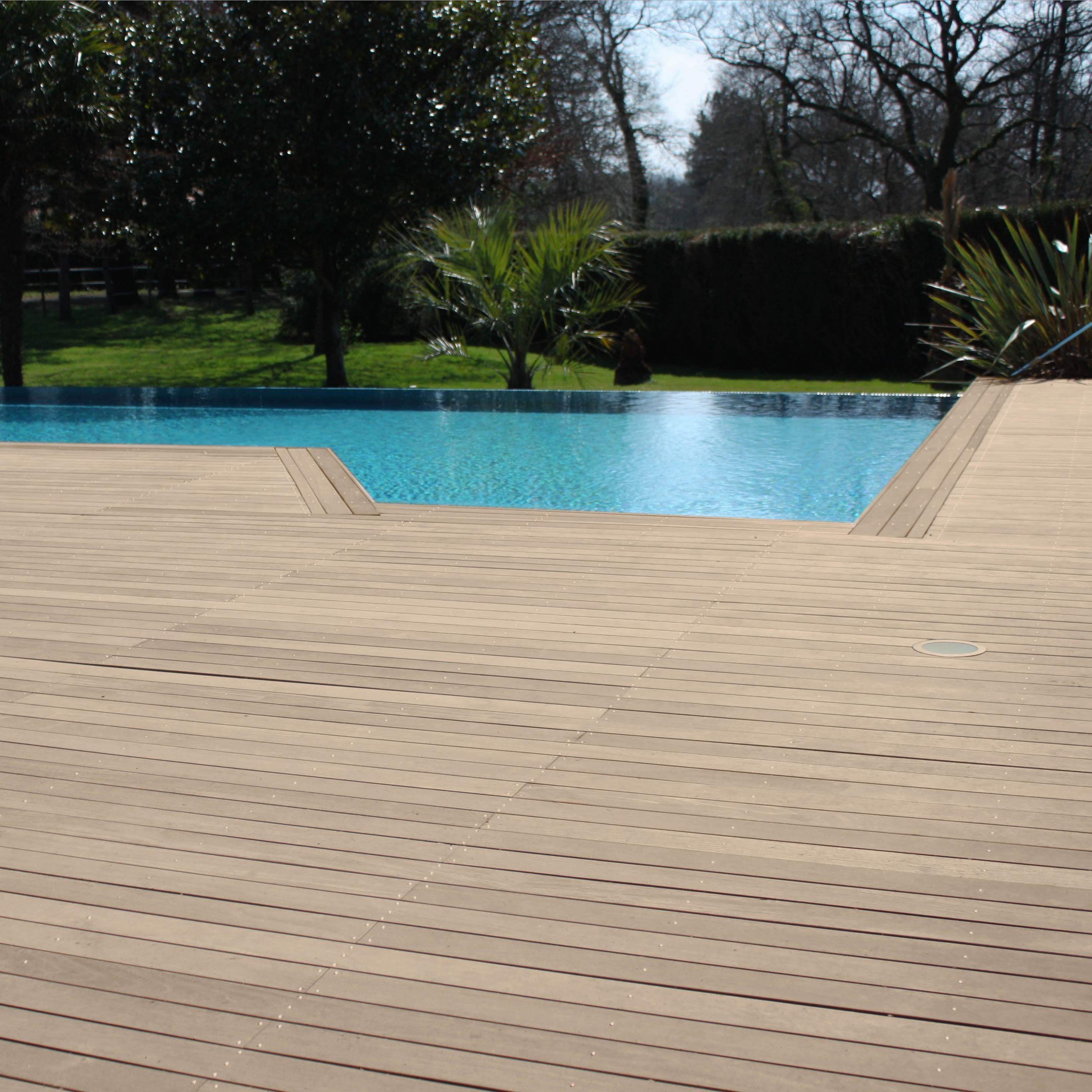 Terrasse bois cumaru ferro