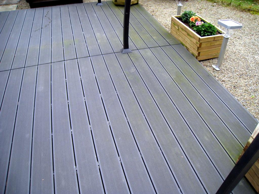 Terrasse bois composite brico