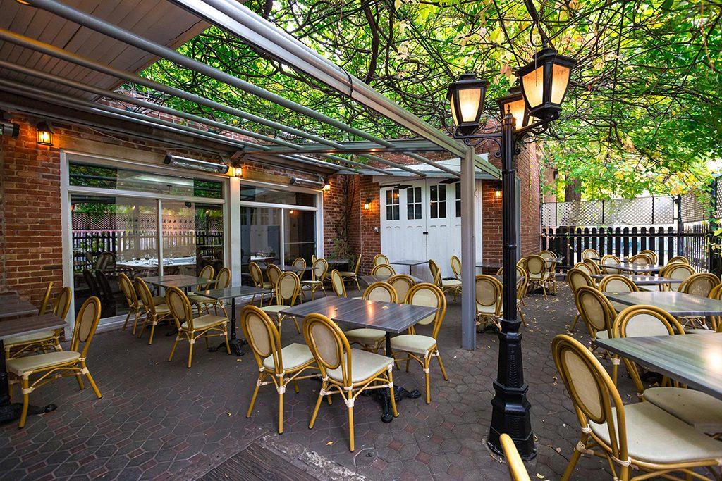 Terrasse cafe photo