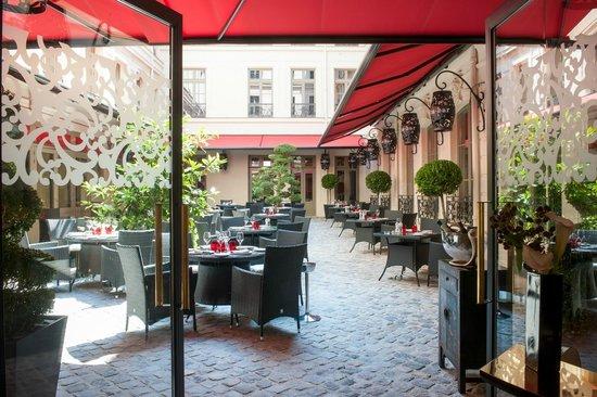 Terrasse restaurant bar paris