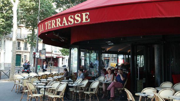 Terrasse in paris