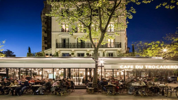 Cafe terrasse trocadero