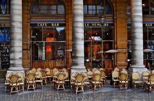 Cafe terrasse palais royal