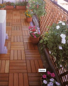 Caillebotis de terrasse