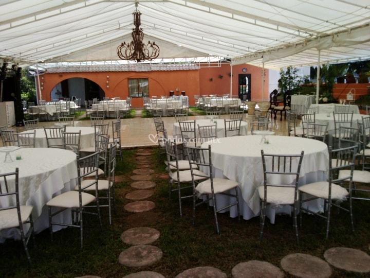Salon de fiestas monaco jardin ciudad de méxico d.f