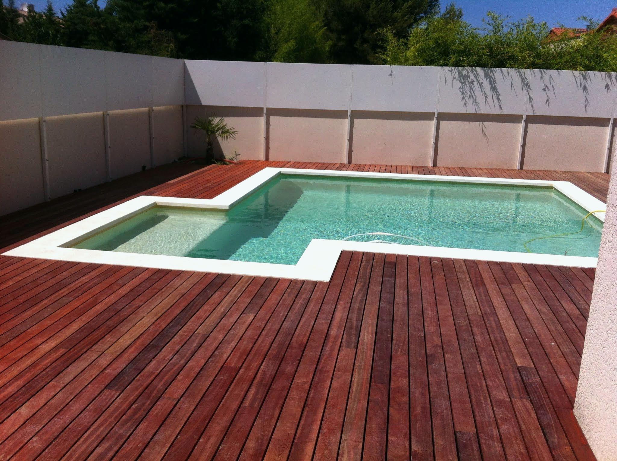 Terrasse bois piscine brico depot