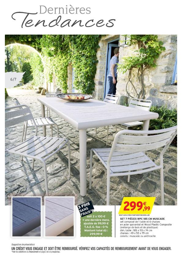 Salon de jardin intermarché 2015 - Mailleraye.fr jardin