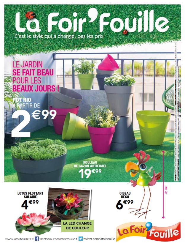 Catalogue salon de jardin la foir\'fouille - Mailleraye.fr jardin