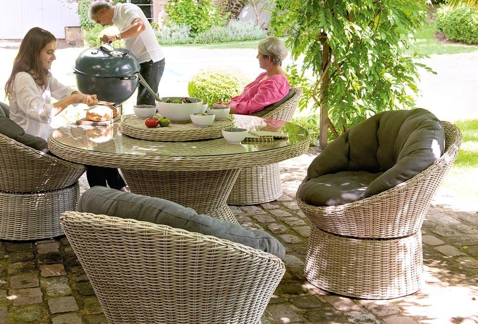 Salon de jardin tresse truffaut
