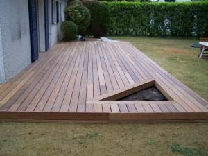 Terrasse bois sur pilotis pas cher