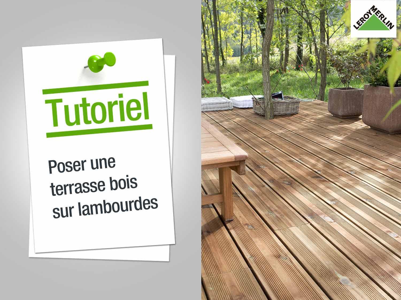 Ultra Recouvrir une terrasse carrelee avec du bois - Mailleraye.fr jardin GW-36