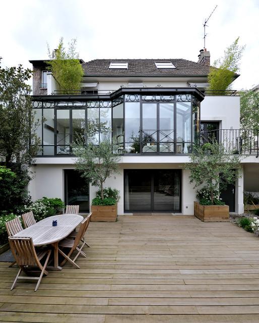 Terrasse balcon maison