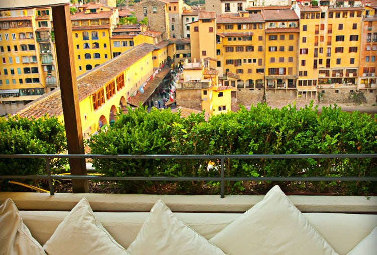 Terrasse hotel continental florence