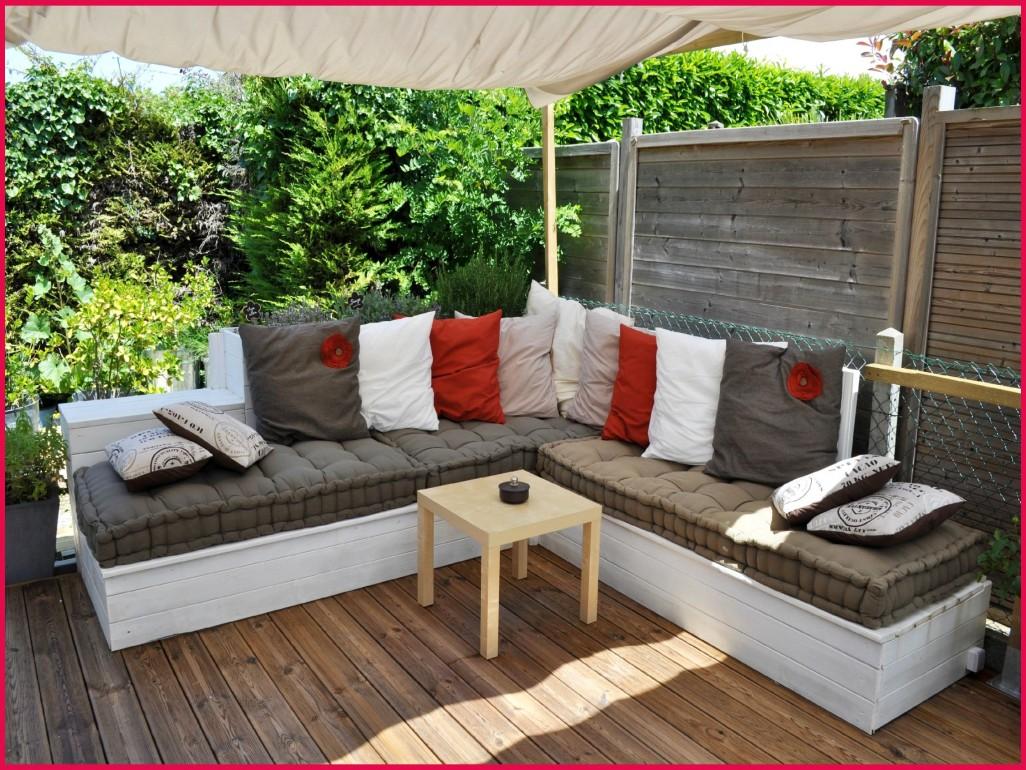Salon de jardin coussin orange - Mailleraye.fr jardin