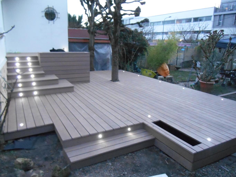 Prix revient terrasse composite jardin - Terrasse en bois ou composite ...