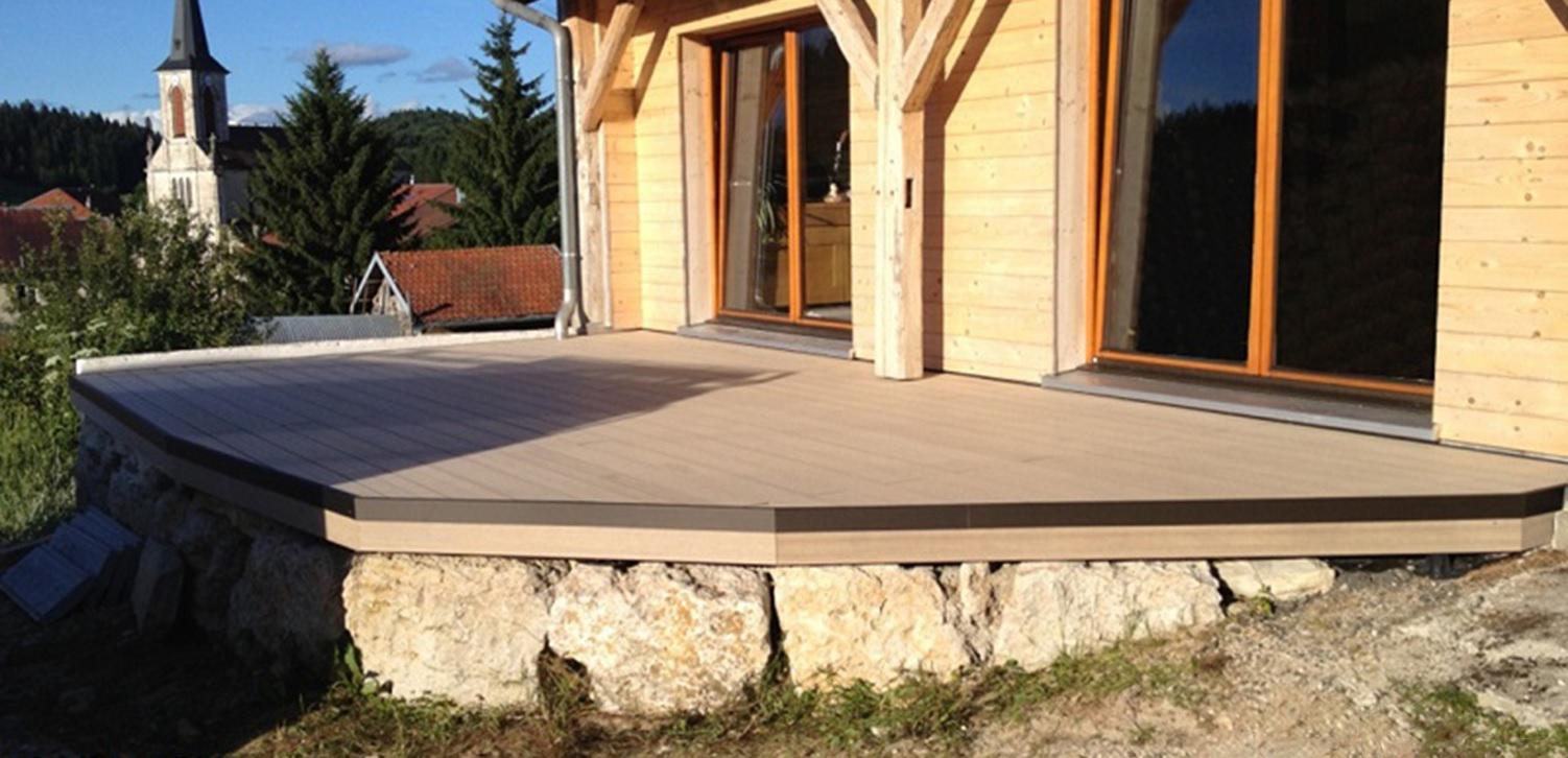 Terrasse bois composite comment poser