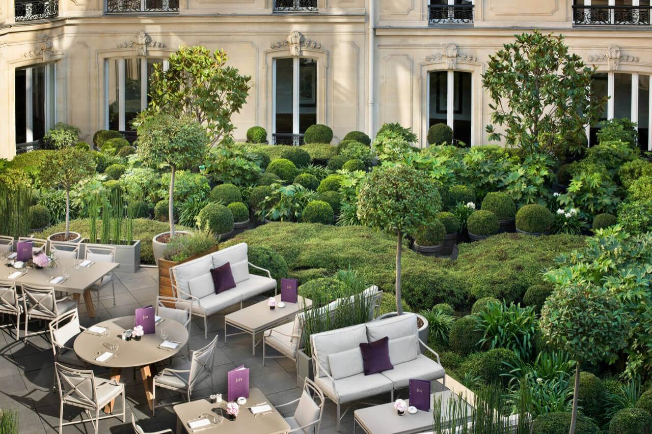 Galerie joy terrasse et jardin paris