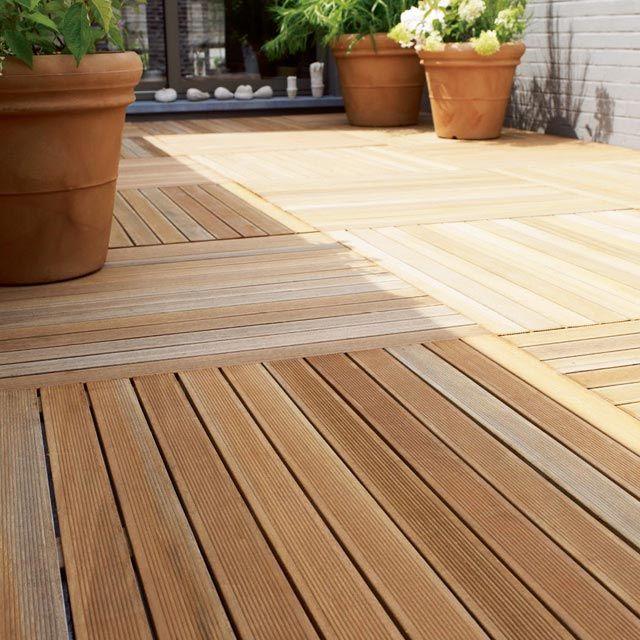 Terrasse bois prix castorama