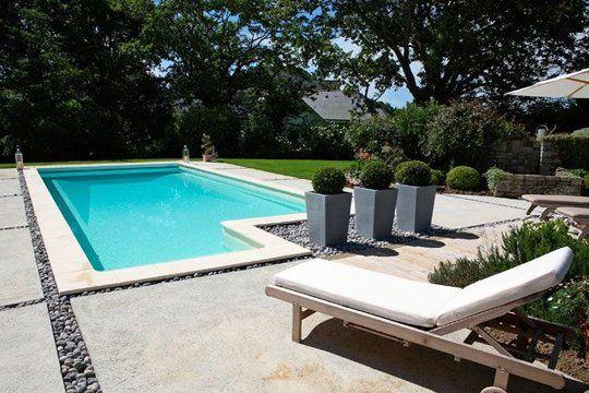 Deco terrasse avec piscine